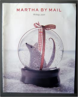 Martha By Mail Holiday Gift Catalog 1999 Martha Stewart Amazon Com