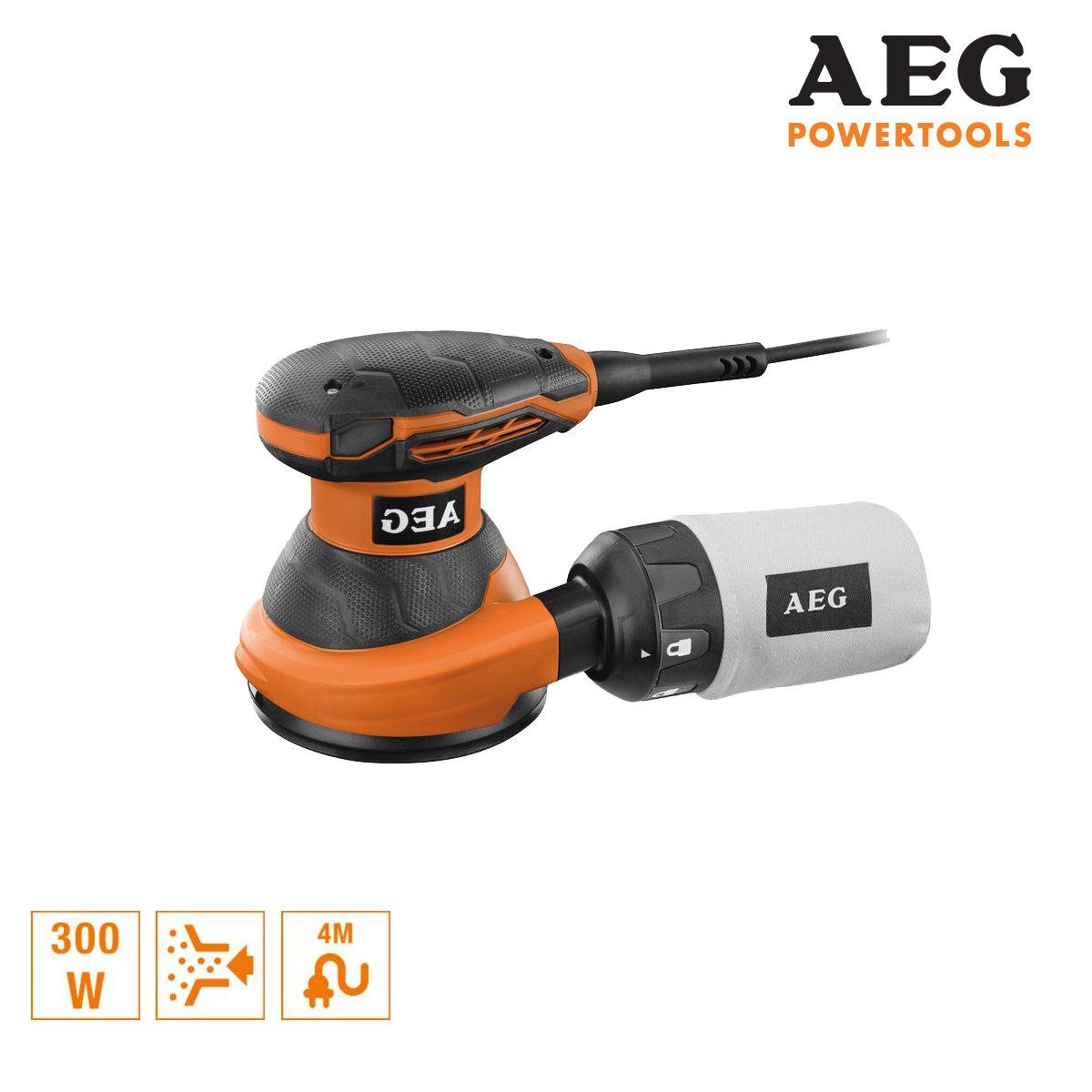 Exzenterschleifer AEG 150/mm 300/W EX 125/ed-set