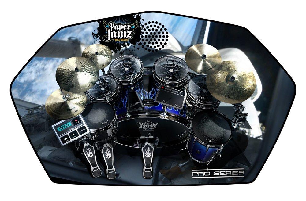 Paper Jamz 63883 - Accessoire - Instrument de Musique - Batterie Pro - Style 3 W63883