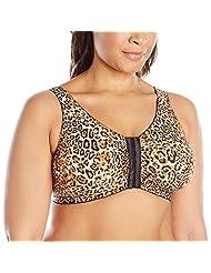 Leading Lady Women's Plus-Size Zig-Zag Weave Sleep Leisure Bra