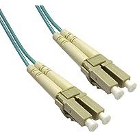 Add-On Computer Peripherals (ACP) LC - LC, LOMM, OM4, 10m - Cable de fibra óptica (LOMM, OM4, 10m, LC, LC, Macho/Macho, OFC, Turquesa, 10 - 70 °C)