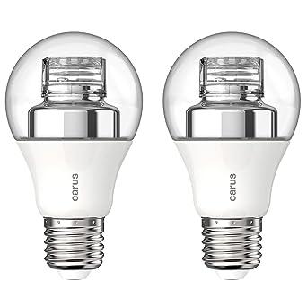CARUS Dim by Click LED 8W=48W 600lm warmweiß 2700K dimmbar per Lichtschalter 2er