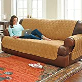 Ultimate Suede Furniture Protector-Sofa - Camel