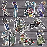 10Pcs Blur Band Gorillaz Cool Sticker Decal for