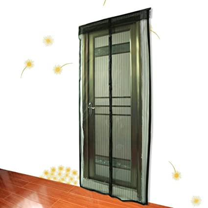 Superbe Magnetic Screen Door(2 Pack)Mesh Screen Anti Mosquito Curtain Door Insect  Bug Fly