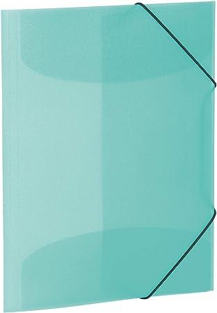 Herma 19584 Sammelmappe Din A3 Transluzent Türkis Aus Stabilem Kunststoff Abwaschbar Und Strapazierfähig Mit 3 Innenklappen Gummizugmappe Eckspanner Mappe 1 Zeichenmappe Für Kinder Amazon De Bürobedarf Schreibwaren
