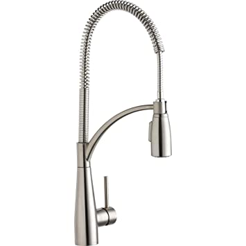 Elkay Lkav4061ls Avado Lustrous Steel Single Lever Kitchen Faucet