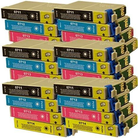 24 CiberDirect cartuchos de tinta compatibles para Epson Stylus ...
