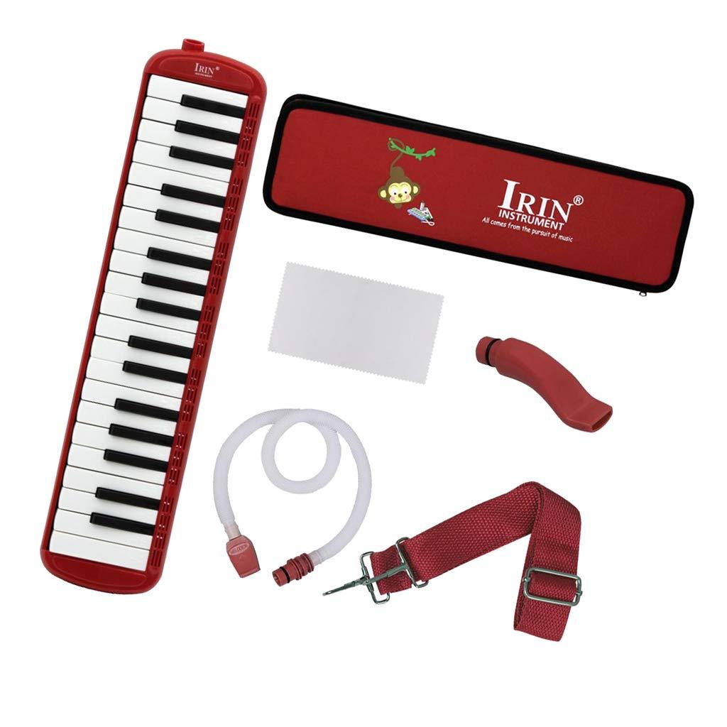 Almencla 37 Key Keyboard Harmonica With Professional Bag Musical Instrument - Red, 48 x 11 x 4.5cm by Almencla (Image #8)
