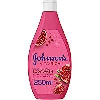 جونسون، صابون سائل للاستحمام، Vita-Rich، إشراقة، 250 مل