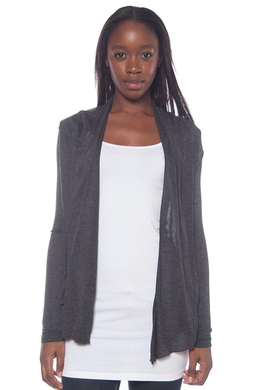 Active Basic Women's Basic Drape Front Shawl Cardigan Royal at ...