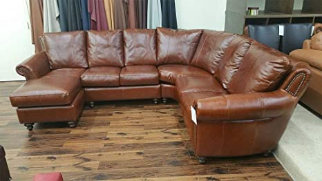 Amazon.com: 4-Piece Sectional with Center Seat Incliner ...