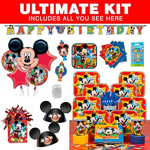 Mickey Mouse Ultimate Kit (Serves 8)