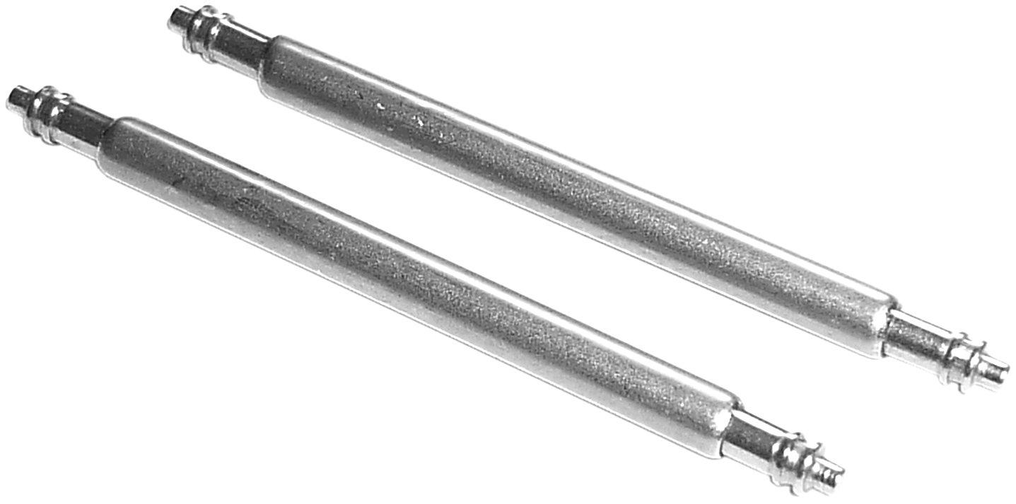 1PAAR 18mm QUALIT/ÄTS FEDERSTEGE F/ÜR UHRENARMB/ÄNDER 1,5mm DURCHMESSER