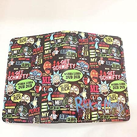 Card & Id Holders Novelty Cartoon Passport Holder Travel Id Card Holders Anime Movies Rick And Morty Cute Passport Cover For Kids Students Gifts