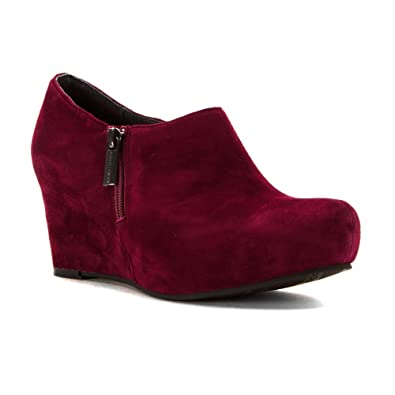 Sacha London Women's Virgo Bordo Kid Suede ...