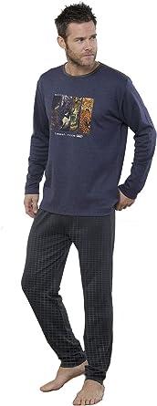 MASSANA - Pijama Hombre Beast Mode - Marino, XXL ...