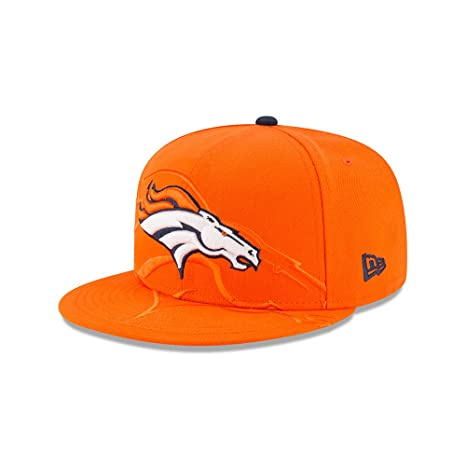 Image Unavailable. Image not available for. Color  New Era Denver Broncos  Orange Logo Spill 9FIFTY ... 5d7abbc50
