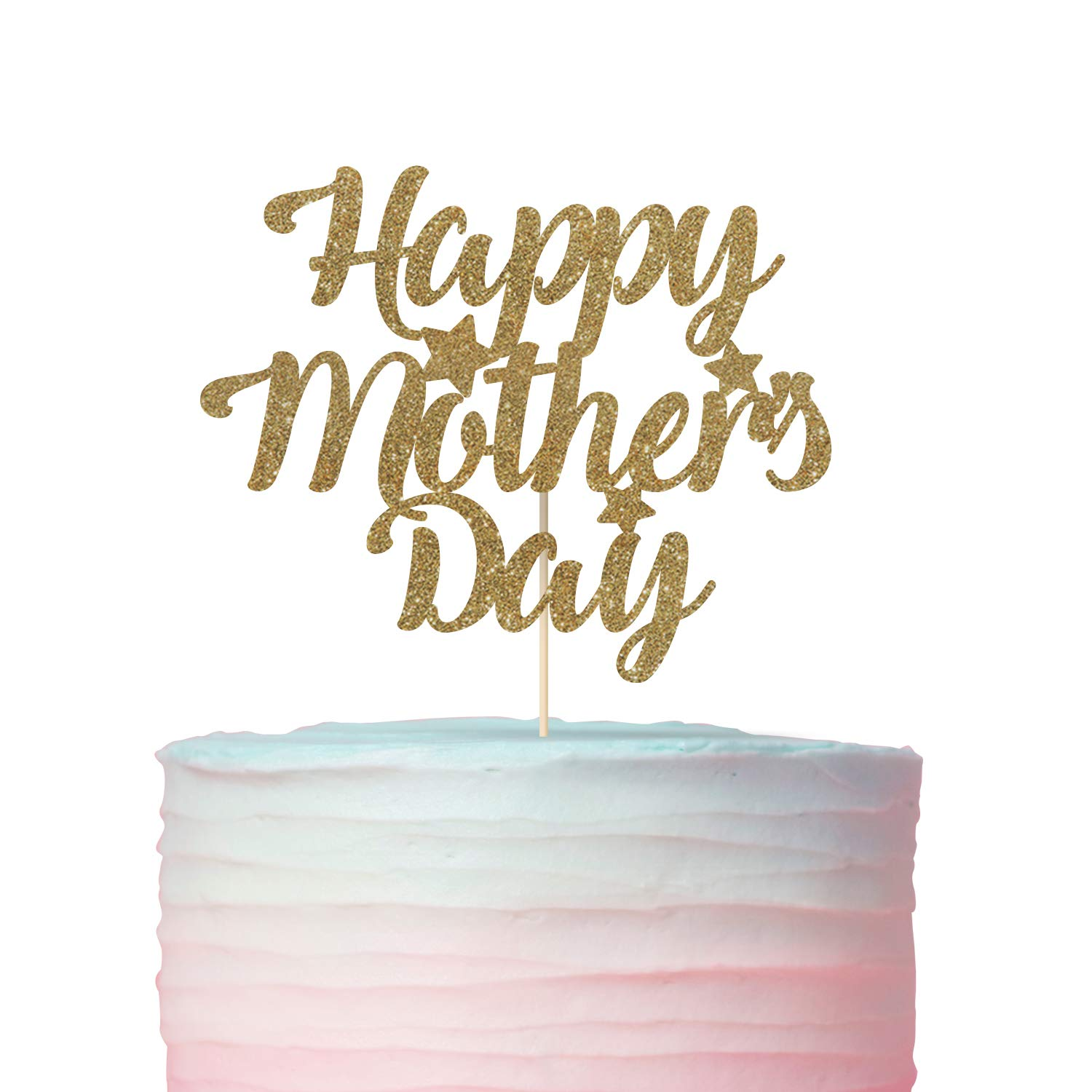 Mothers day cake topper Dinner for mother Happy Mothers Day Mommy gift I love Mom Mothers Day idea Happy Mothers Day cake topper