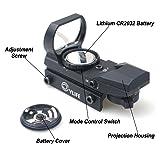 CVLIFE 1X22X33 Red Green Dot Gun Sight Riflescope