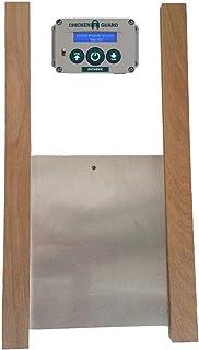 ChickenGuard Extreme Automatic Chicken Coop Pop Door Opener u0026 Door Kit Combo | Outdoor/Indoor  sc 1 st  Amazon.com & Amazon.com: Standard Automatic Chicken Coop Pop Door Opener Lifts up ...
