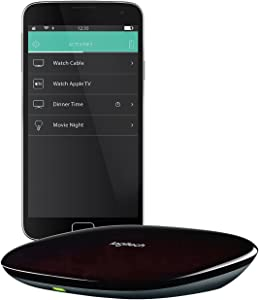 Logitech 915-000238 Harmony Home Hub for Smartphone Control of 8 Home Entertainment and Automation Devices (Renewed)