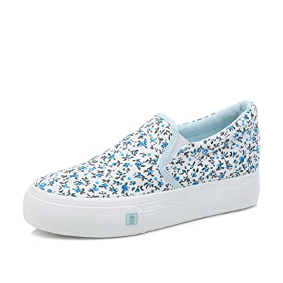 Canvas Shoes/Slip-on Shoes/Student's Shoes/Thicken Platform Shoes