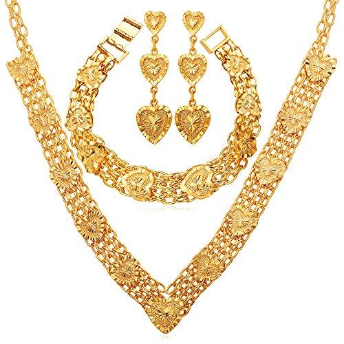 Necklace Wedding Jewelry Bracelet Earrings