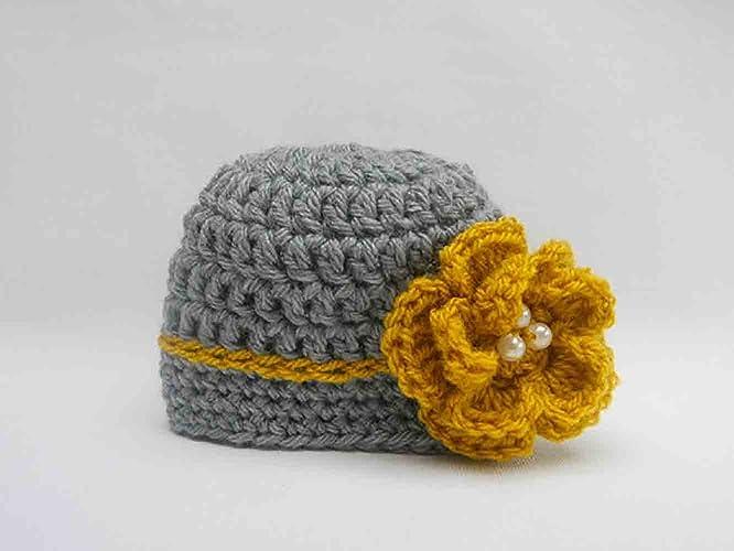 Amazon.com: 2017 SUMMER TRENDS, Crochet Hat, Crochet Baby ...