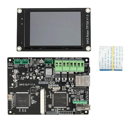 Placa de control de impresora 3D, placa base MKS DLP V1.0 + ...