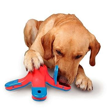 CLKJCAR- Juguetes de entrenamiento para perros, juguetes educativos, alimentador para perro, puzle