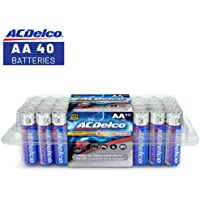 40-Pack ACDelco AA Super Alkaline Batteries In Recloseable Package