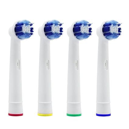 LIVHÒ | Cabezales de recambio por cepillo de dientes électrico (4 piezas SB-20A