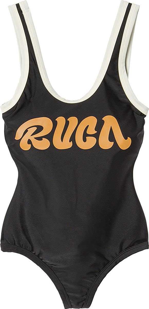 RVCA Womens First Base One Piece Swimsuit