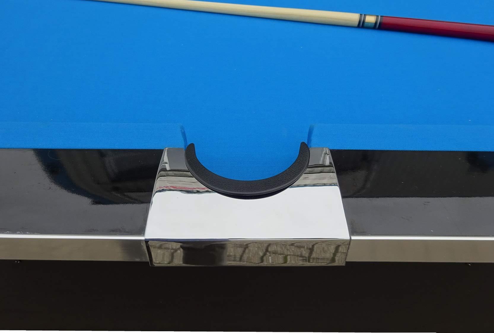 240 x 130 x 79 cm Slate Bed With Accessories Set BuckShot Pool Table Billiard LeMans 8ft Black//Blue 2 Leg