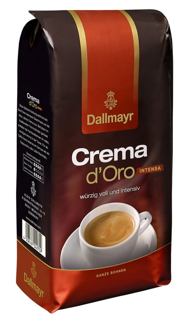 Amazon.com : Dallmayr Crema D\'oro Whole Beans Coffee 2 Packs X 17.6 ...