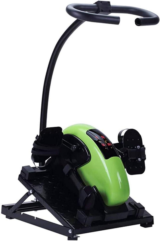 CCLLA Bicicleta de rehabilitación eléctrica Bicicleta de Entrenamiento con Pedal estacionario, Ejercicios de Entrenamiento de hemiplejia para Brazos y Rodillas, Terapia física para discapacitados *1