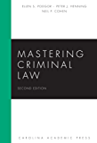 Mastering Criminal Law, Second Edition (Mastering Series)