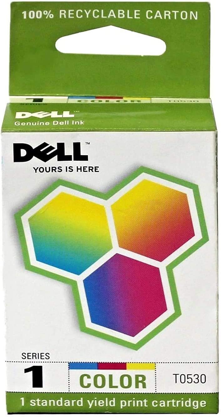 Dell 1 X Genuine 310-4143 (Series 1) Color Ink Cartridge