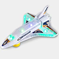 DeVan Bump and Go Electric Space Shuttle Airplane Toy