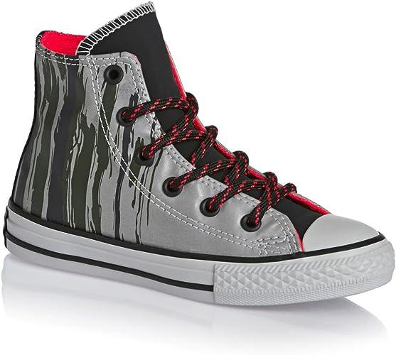 /654214/C Converse Chuck Taylor All Star Hi Flash Flood YTH//JR Zapatillas Deportivas/ /Gris/