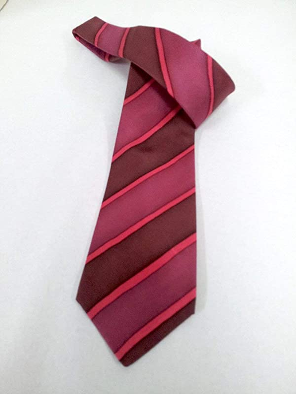 Corbata de seda pintada a mano-Corbata de rayas- Corbata elegante ...