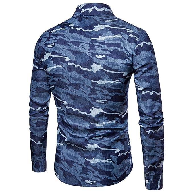 ... de los Hombres, Camisas de Manga Larga superfuertes Frescas Camisas del Ajuste adelgace Vestido avanzado de la Manera Blusa ¡Top: Amazon.es: Ropa y ...