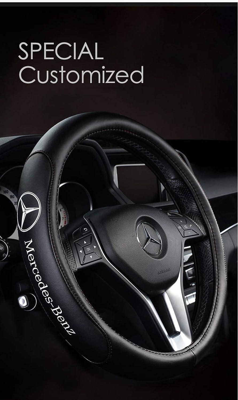 Coprivolante per Auto Classe B Classe C c200l300l Classe GLC Coprivolante in pelle classe GLC classe GLE Mercedes-Benz,A