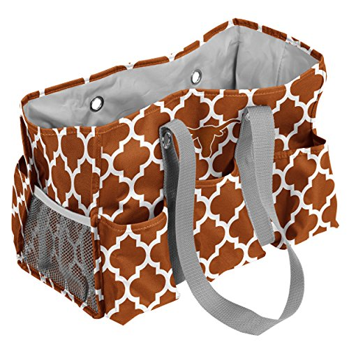 Logo Brands Texas Longhorns Patterned Multi-Pocketed Junior (Texas Longhorns Large Tote)