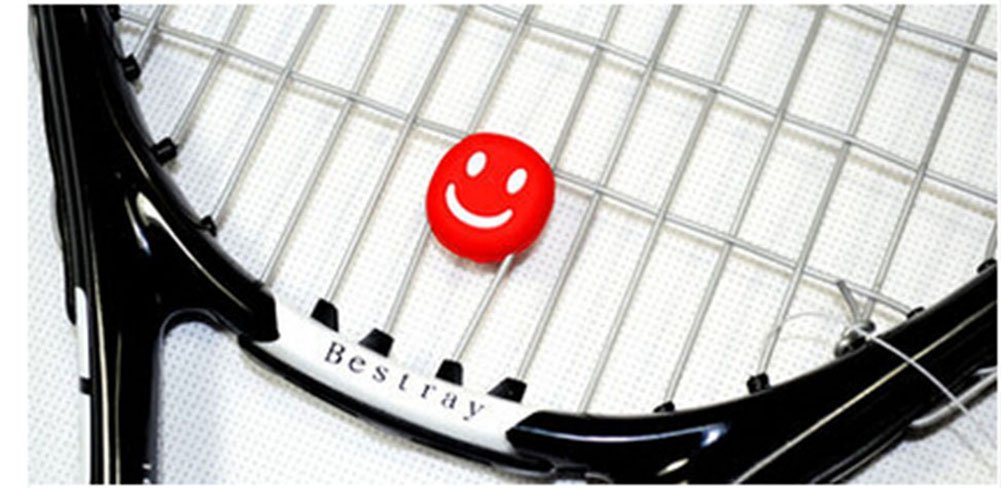 Amazon.com : PANDA SUPERSTORE Tennis Vibration dampeners Smile Vibration dampener (Set of 2) : Sports & Outdoors