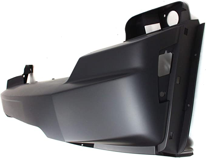 Bumper Cover For 2008-2012 Jeep Liberty Front Plastic w//Lower Moulding Hole CAPA