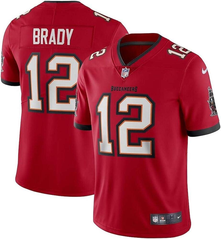 Herren T-Shirt American Football Uniform Tampa Bay Buccaneers #12 Brady Football Trikots Gruby Tee Shirts
