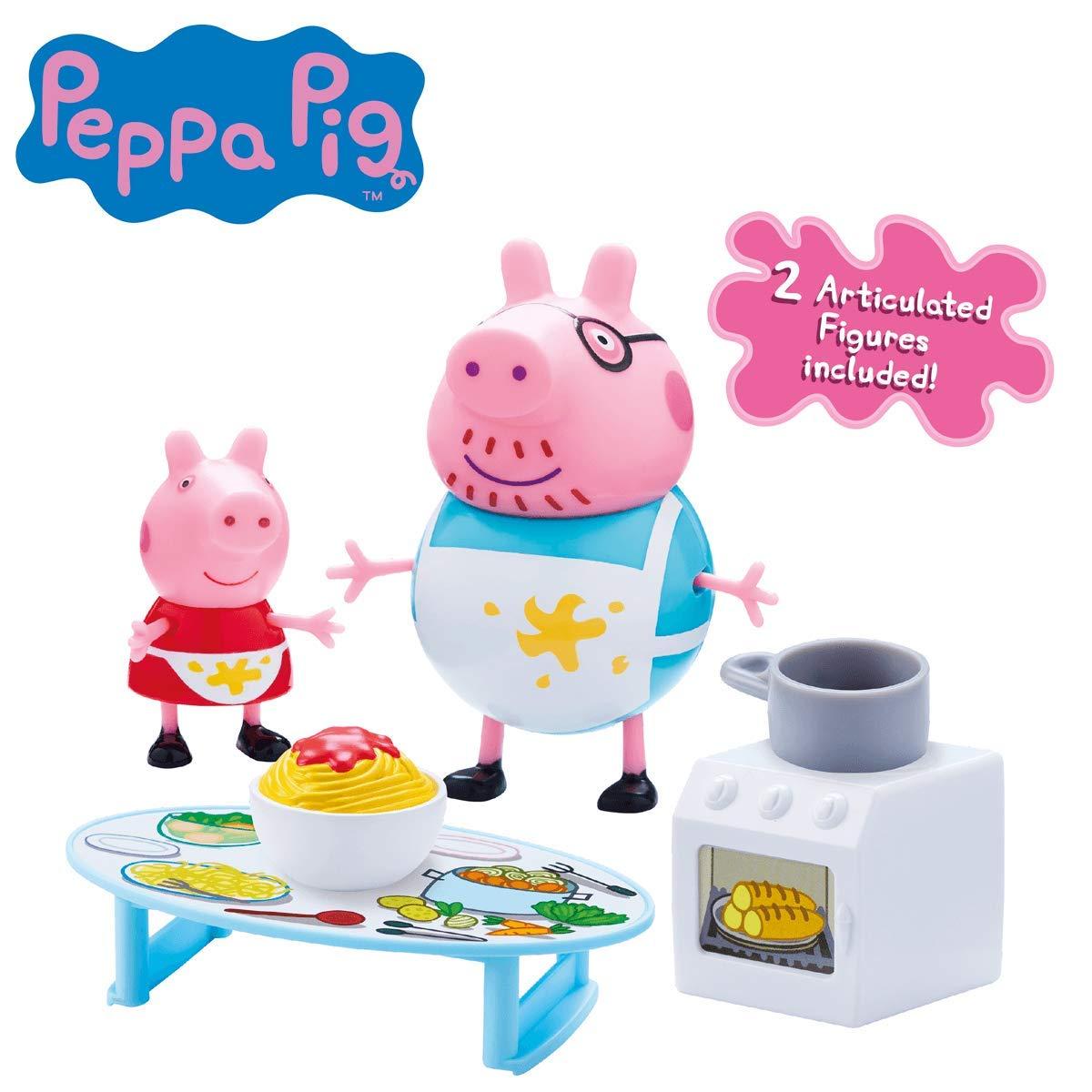 Amazon.es: Peppa Pig Juego de compras de Peppa Playset con 2 figuras: Juguetes y juegos