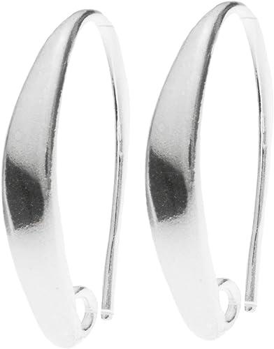 925 Silver Dangling Flower French Ear Wire Dangle Earrings